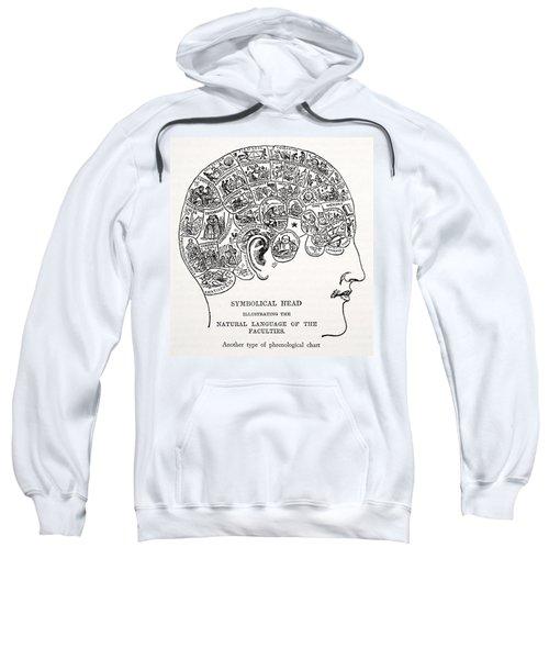 Symbolical Head Sweatshirt