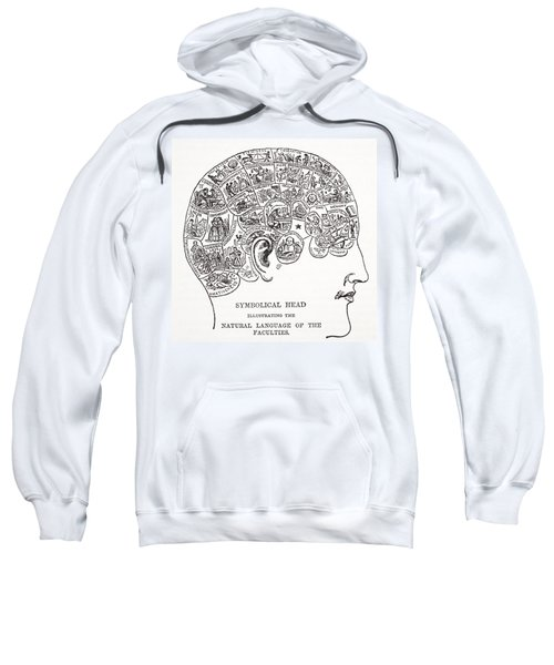 Symbolical Head Showing The Natural Sweatshirt