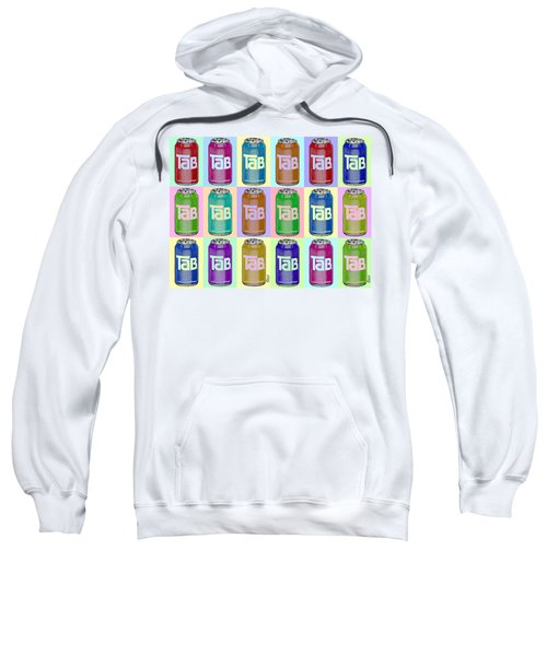 Tab Ode To Andy Warhol Repeat Horizontal Sweatshirt
