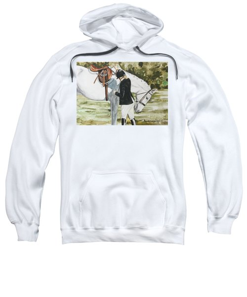 Tacking Up Sweatshirt