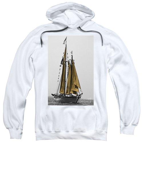 Tall Ship Under Sail Sweatshirt