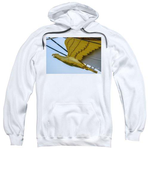 Tall Ship Uscg Barque Eagle Masthead Sweatshirt