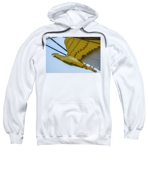 Tall Ship Uscg Barque Eagle Masthead Sweatshirt