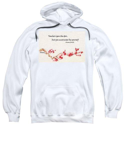 Teachers Open The Door Sweatshirt