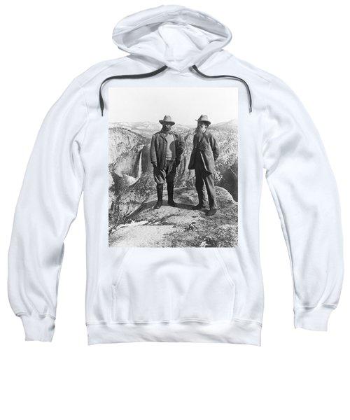 Teddy Roosevelt And John Muir Sweatshirt