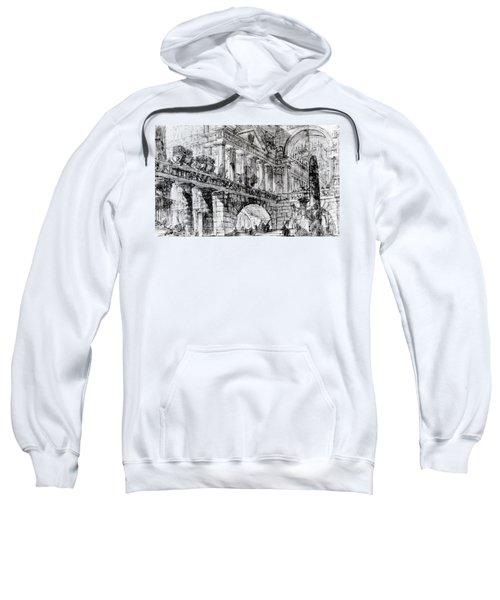 Temple Courtyard Sweatshirt