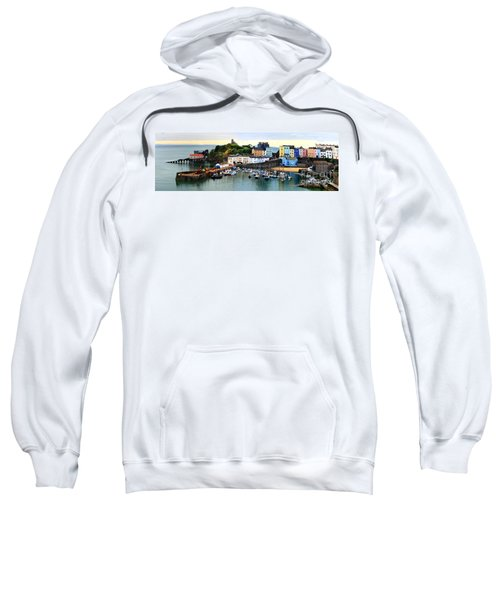 Tenby Harbour Panorama Sweatshirt