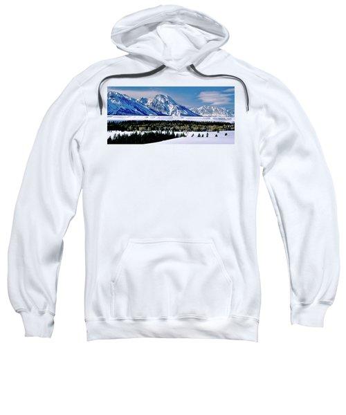 Teton Valley Winter Grand Teton National Park Sweatshirt