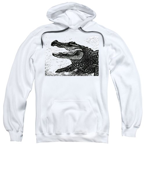 The Alligator Sweatshirt