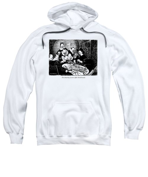 The Anatomy Lesson Sweatshirt