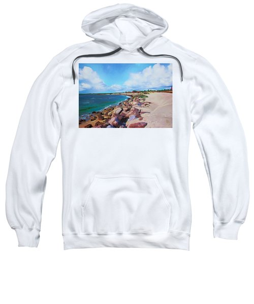 The Beach At Ponce Inlet Sweatshirt