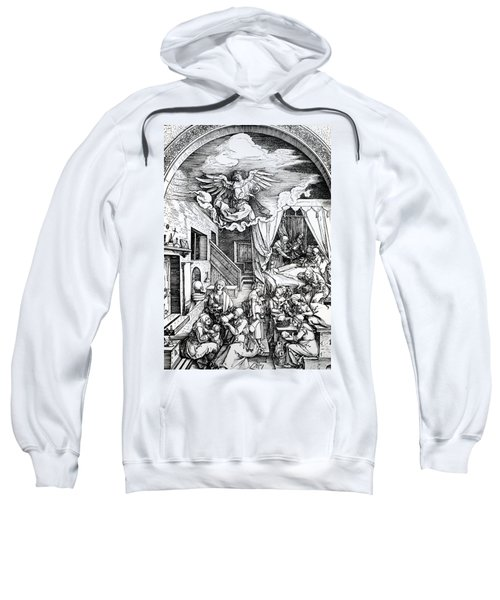 The Birth Of The Virgin, From The Cycle Of The Life Of The Virgin, 1511 Sweatshirt