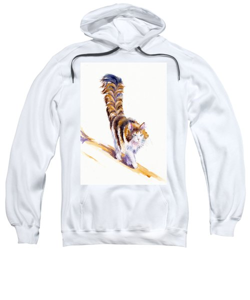 The Calico Cat That Walked By Himself Sweatshirt