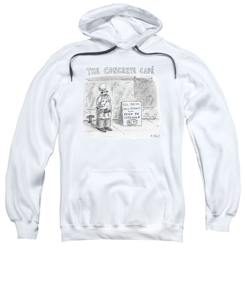 The Concrete Cafe 'egg Sweatshirt