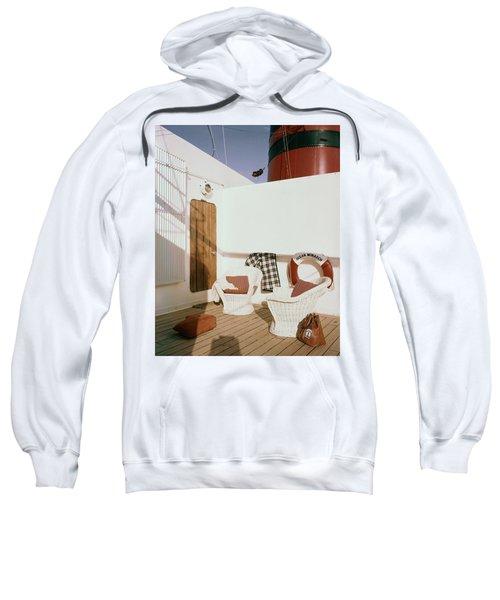 The Deck Of The Ocean Monarch Sweatshirt