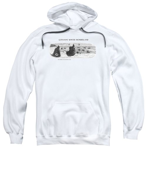 The Druidic Polar Bear Club Sweatshirt