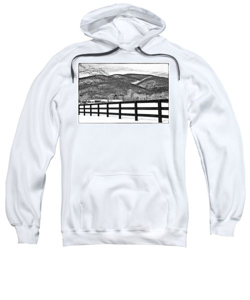The Fenceline B W Sweatshirt