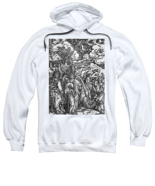 The Four Angels Holding The Winds Sweatshirt