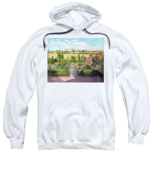 The Herb Garden After The Harvest Sweatshirt