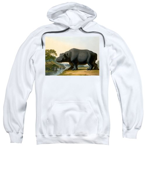 The Hippopotamus, 1804 Sweatshirt by Samuel Daniell