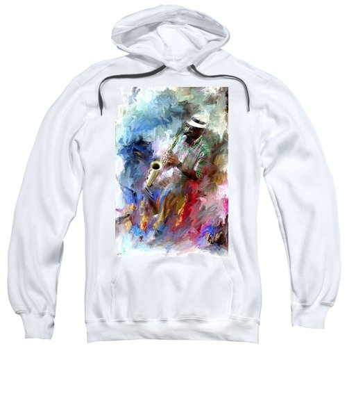 The Jazz Player Sweatshirt