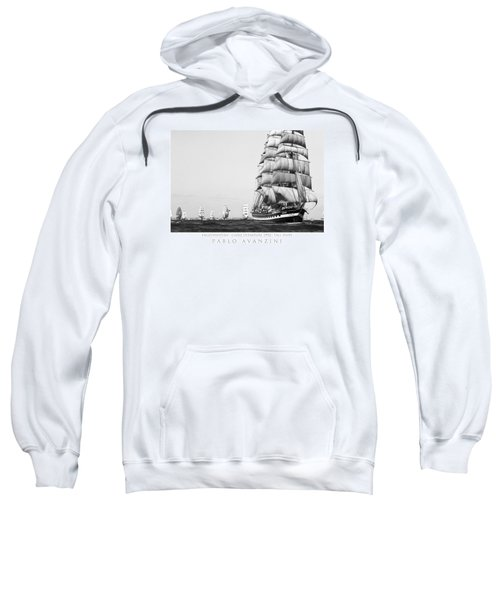 The Kruzenshtern Departing The Port Of Cadiz Sweatshirt