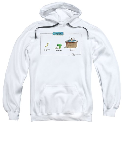The Labels Beneath Images Of Spaghetti Sweatshirt