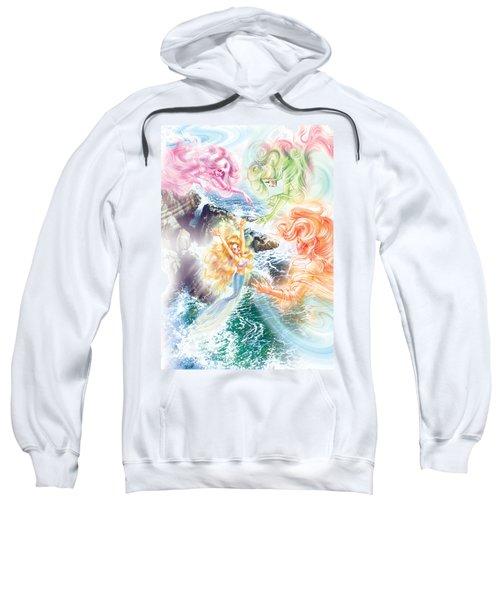 The Little Mermaid And Wind Daughters Sweatshirt