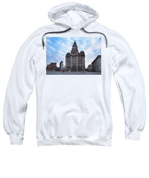 The Liver Buildings, Liverpool Sweatshirt