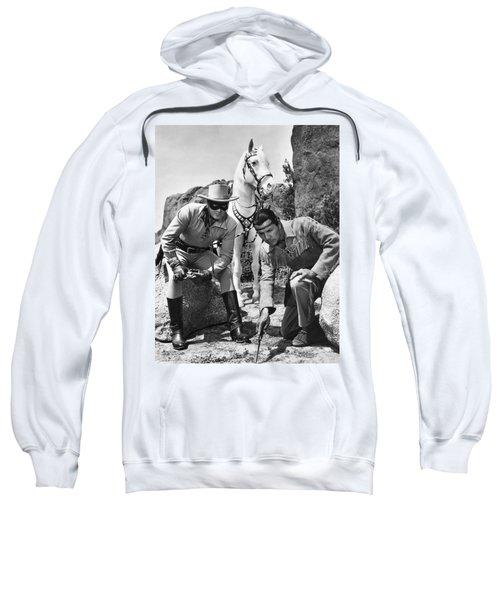 The Lone Ranger And Tonto Sweatshirt