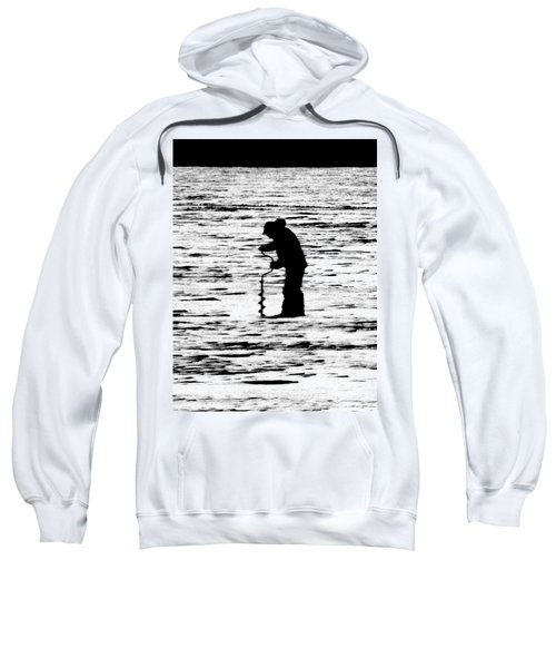 The Loneliness Of The Long Distance Ice Fisher Sweatshirt