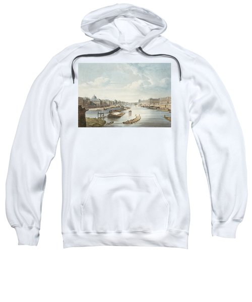 The Louvre, From Views On The Seine Sweatshirt