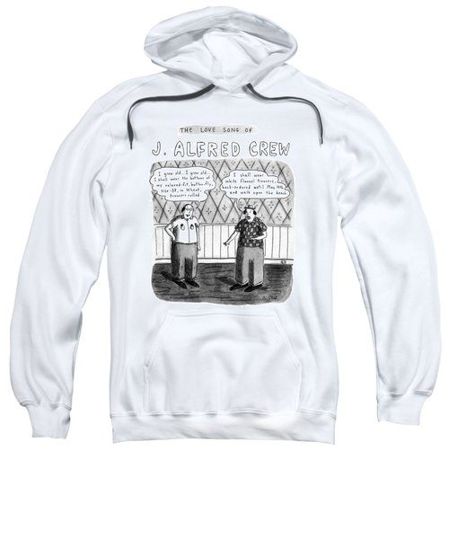 The Love Song Of J. Alfred Crew Sweatshirt