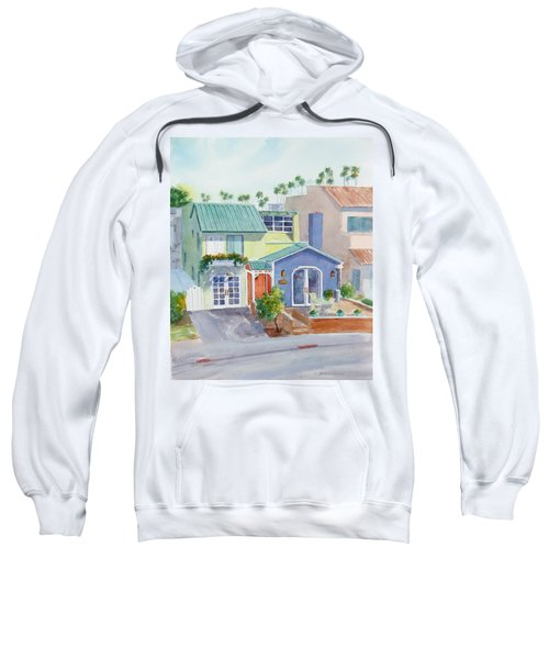 The Most Colorful Home In Belmont Shore Sweatshirt