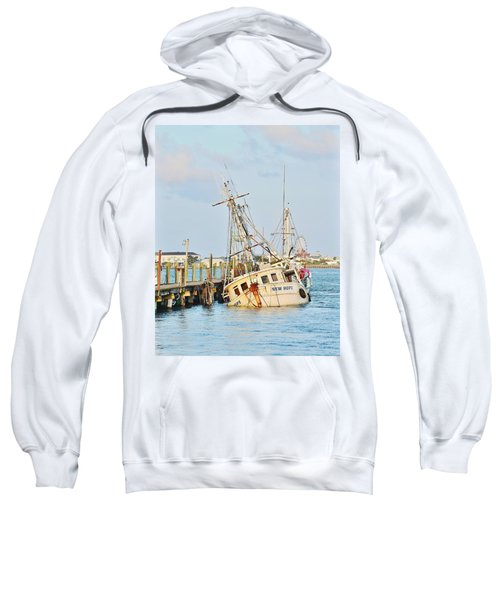 The New Hope Sunken Ship - Ocean City Maryland Sweatshirt