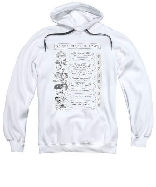 The Nine Circles Of Heaven Sweatshirt