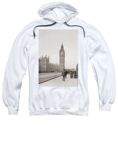 The Palace Of Westminster, Aka The Houses Of Parliament Or Westminster Palace, London, England Sweatshirt