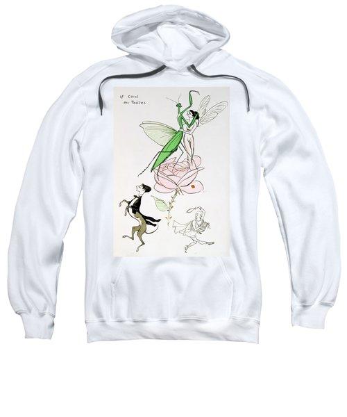 The Poets Corner Sweatshirt by Sem