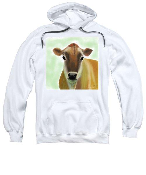 The Pretty Jersey Cow  Sweatshirt