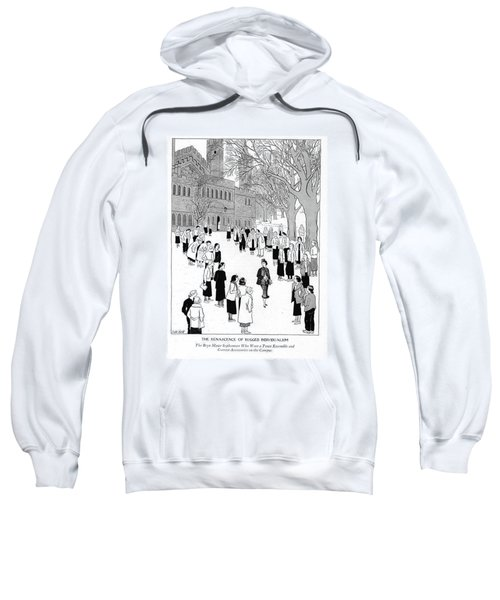 The Renascence Of Rugged Individualism  The Bryn Sweatshirt