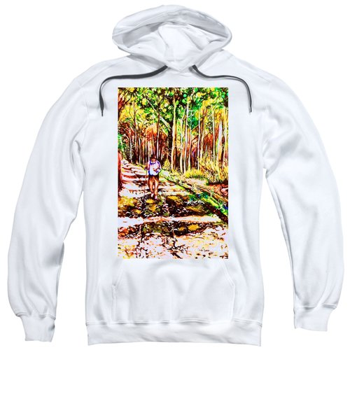 The Road Not Taken Sweatshirt