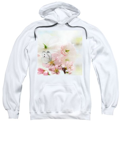 The Silent World Of A Butterfly Sweatshirt