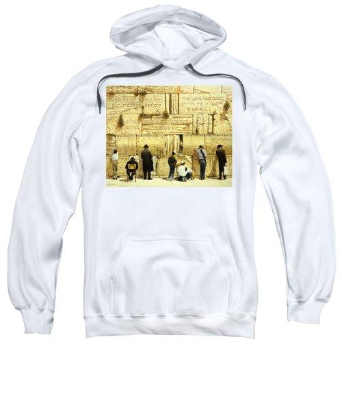 The Western Wall  Jerusalem Sweatshirt