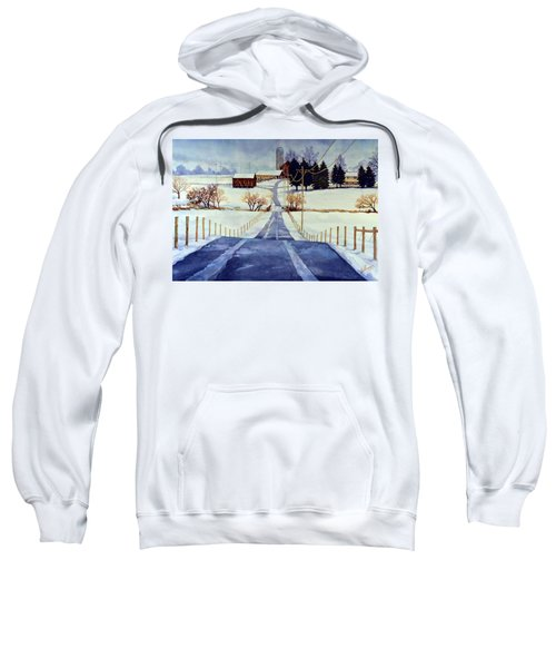 The White Season Sweatshirt
