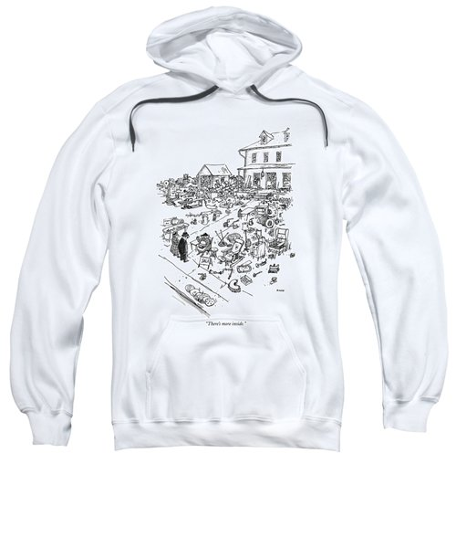 There's More Inside Sweatshirt