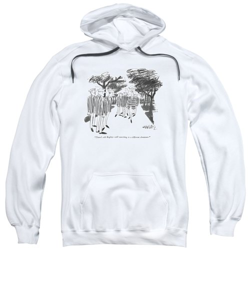 There's Old Begley - Still Marching Sweatshirt