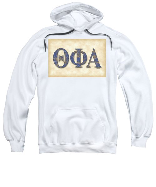Theta Phi Alpha - Parchment Sweatshirt by Stephen Younts