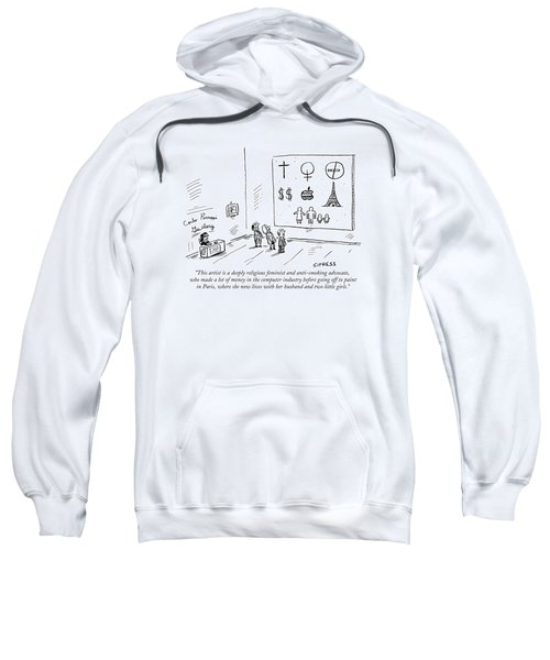 This Artist Is A Deeply Religious Feminist Sweatshirt