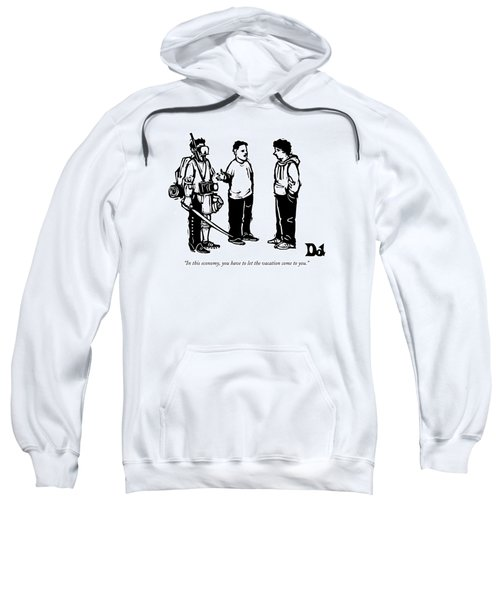 Three Boys Talking Sweatshirt