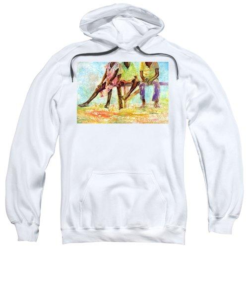 Three Children Of Ghana Sweatshirt